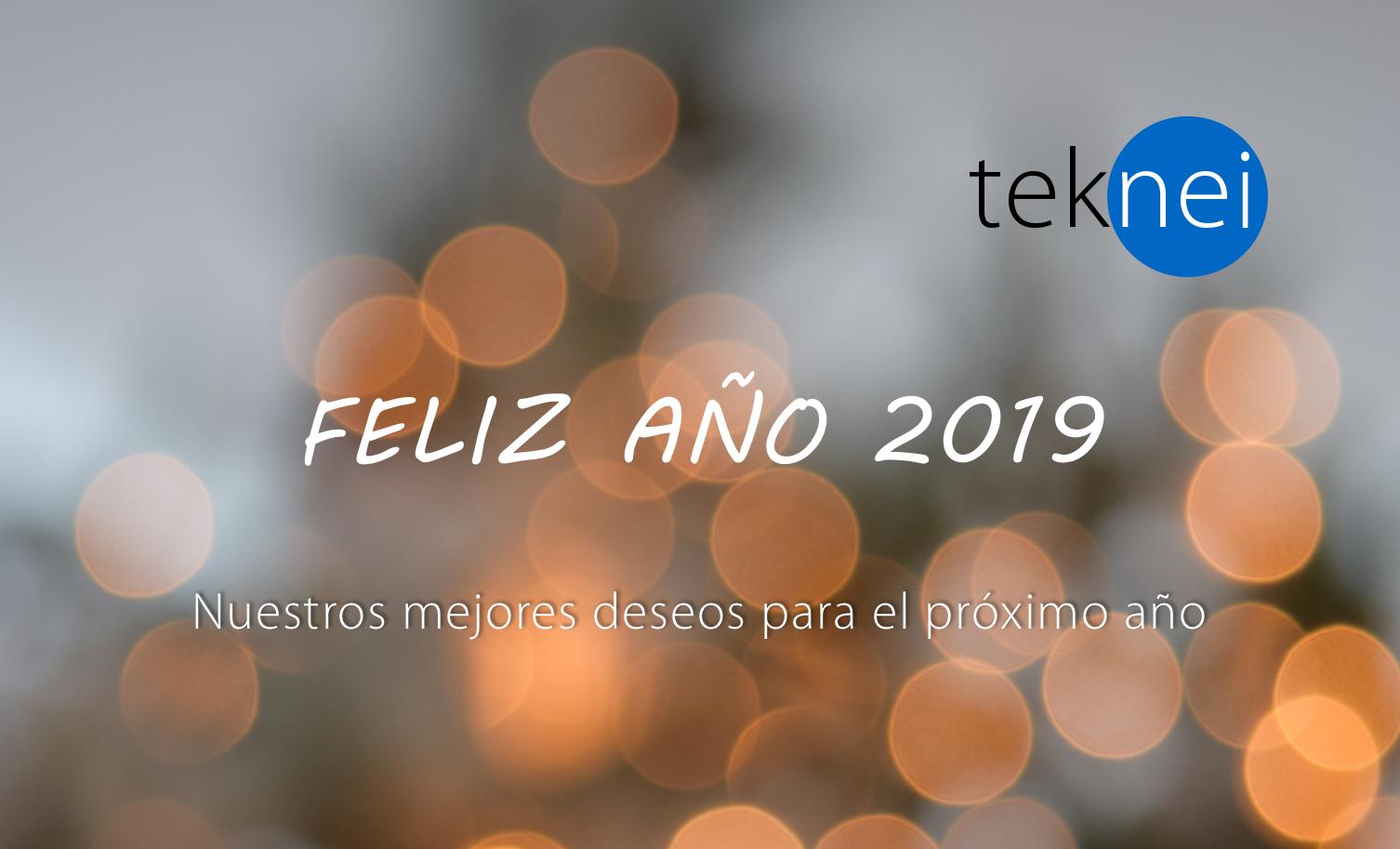 Felicitación teknei año 2019