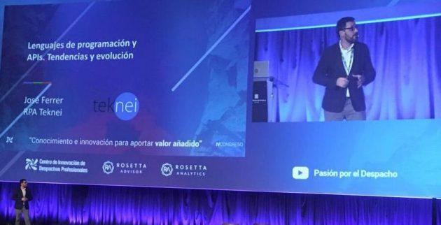 José Ferrer en el IV Congreso de Transformación Digital en los Despachos Profesionales