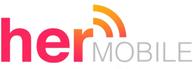 her mobile logo