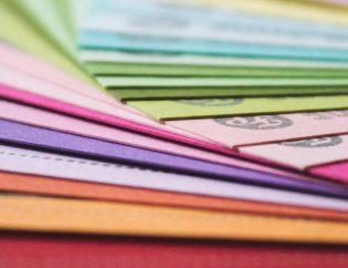 cartulinas de colores gestión documental
