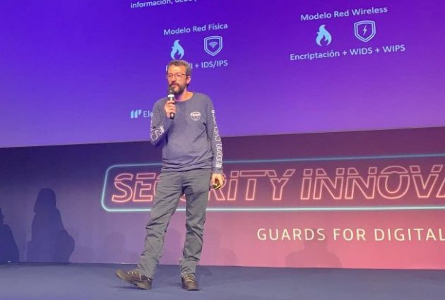 Pablo Aragón en el Security Innovation Day 2019
