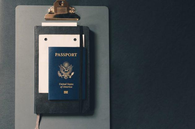 pasaporte, identidad. EEUU