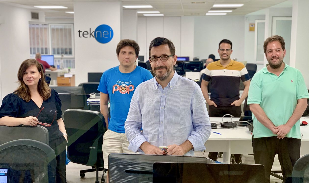 equipo de RPA, oficina de Teknei, España