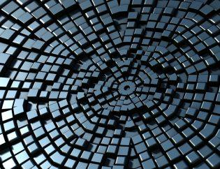 Blockchain cadena de bloques. Organizaciones de tecnología.