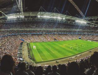 Estadio de fútbol. Tecnología blockchain para el acceso a eventos
