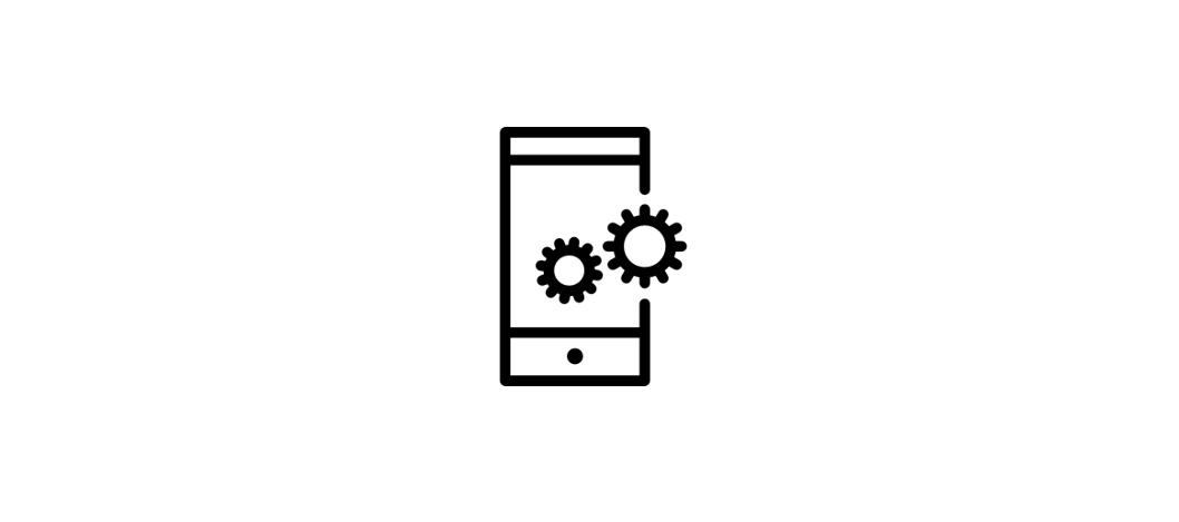 aplicaciones móvil icono