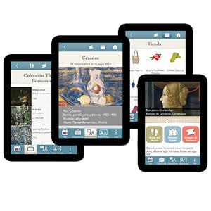 Tablets con información de gestión de museos SIM