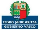 Logotipo del Gobierno Vasco. Eusko Jaurlaritza