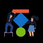 Icono de la página de trabaja en Teknei